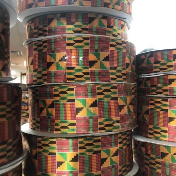 Jambo Kente 3 piece crop set